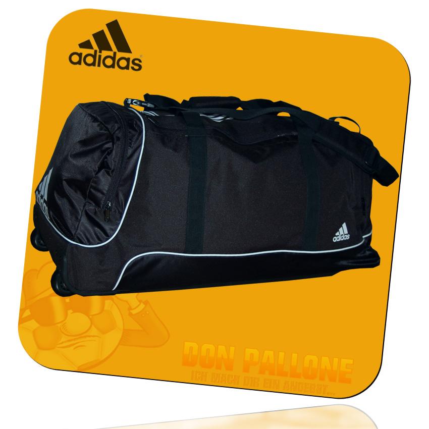 neu adidas promo teambag xl wheel gro e sporttasche tasche mit rollen ebay. Black Bedroom Furniture Sets. Home Design Ideas